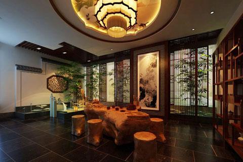 古典茶楼中式装修,静品人生清雅儒韵