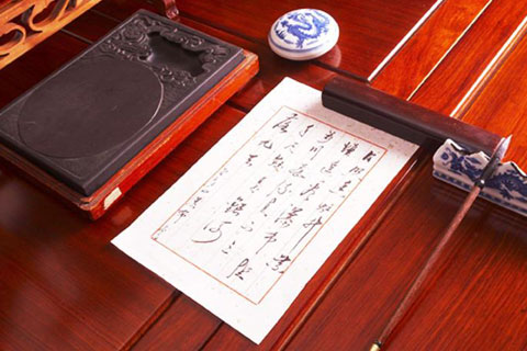 中式书房空间文房清供陈设  清雅脱俗古意悠长
