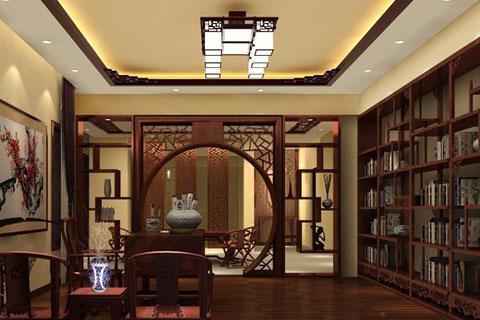 江苏传统韵味的别墅中式装修案例 华贵古朴而清幽儒雅