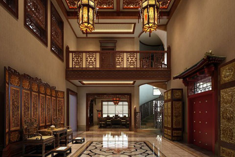 别墅中式装修如何突出特点 中式设计怎么才能突出意境