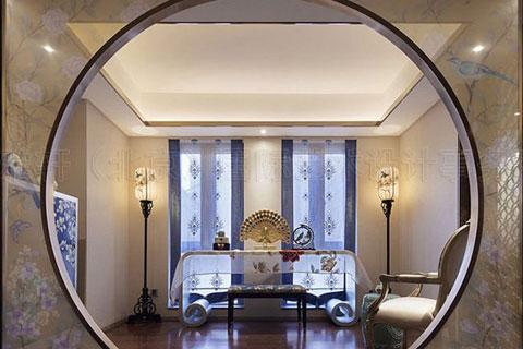 高品质别墅中式装修效果图,内敛含蓄清新庄雅