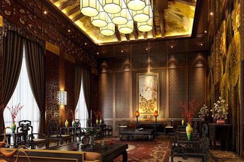 中式四合院设计模式,宁静典雅不失庄严