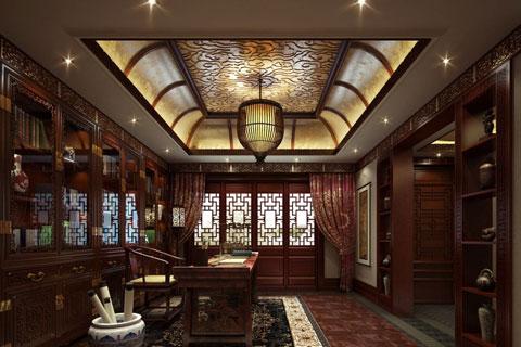 雍福会新四合院中式装修,体现古雅自然的文化内涵