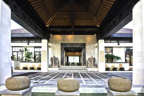 新中式风格酒店装修案例,庄重典雅充满舒适感