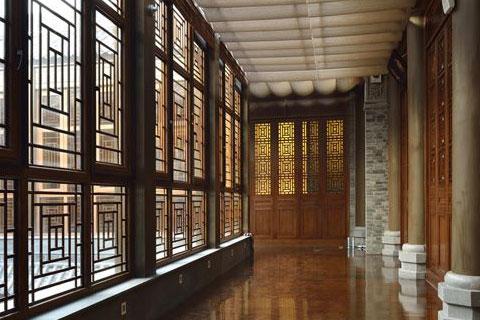 花溪堂会所中式设计,高端大气古韵浓郁