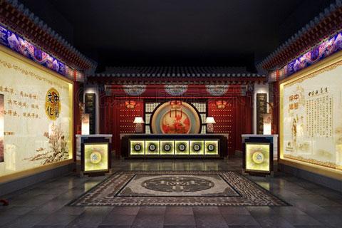 中医养生会所装修设计,打造古雅淳厚中式韵味空间