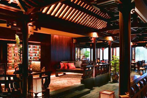 新中式餐厅设计,富丽文雅古韵悠悠