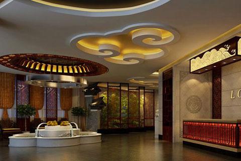 张家口餐厅古典中式装修,精致的艺术感演绎别致的优雅