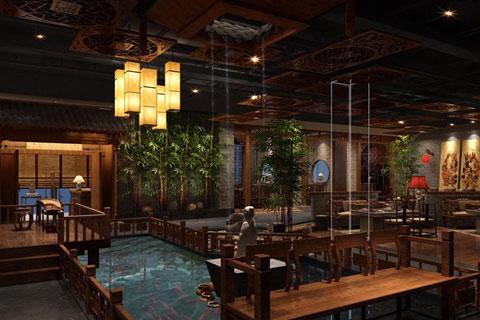 中式餐饮空间设计,体现出唯美的中国文化