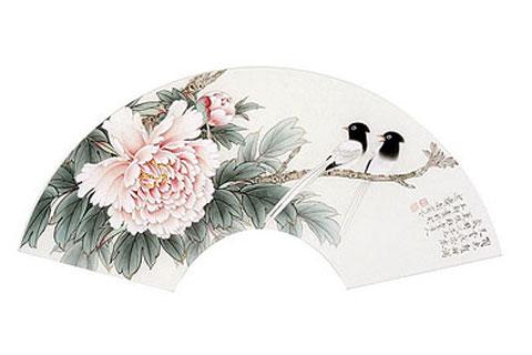 中式传统的独特艺术形式书画扇已为收藏主流