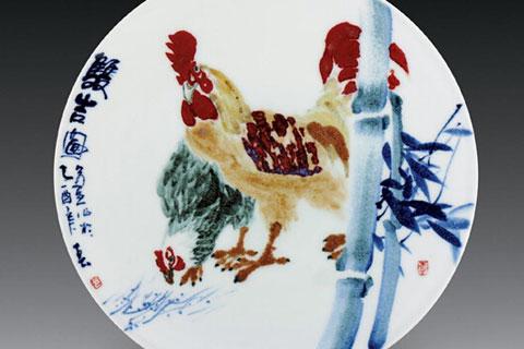 景德镇四大名瓷之颜色釉的制作技艺