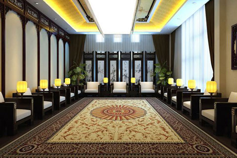 古典中式风格办公室设计,结合古韵缔造高雅品位