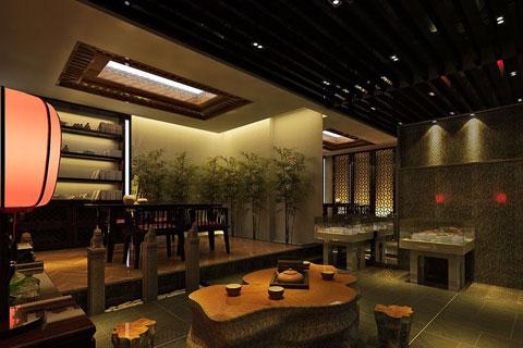 北京建材商贸展厅设计,阐释独特的古典文化