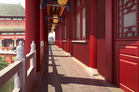 泊莲禅寺古典中式装修 美而不争艳 贵而不居上