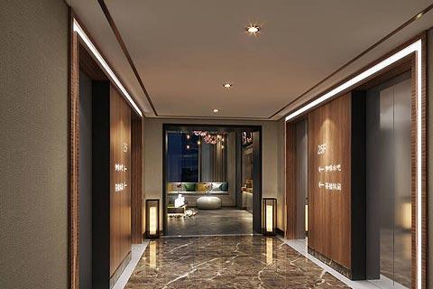 新中式酒店装修效果图,繁琐中体验简单与时尚的个性化
