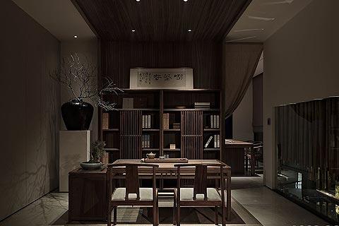 家具展厅中式装修效果图,以住宅家居为蓝本而设计