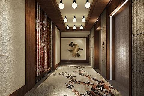 度假酒店中式装修效果图赏析 休融入到中式风格中增添情趣