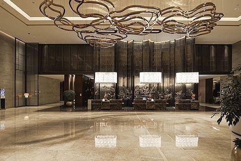 酒店中式装修效果图 精致雅逸的设计颇具古典风格
