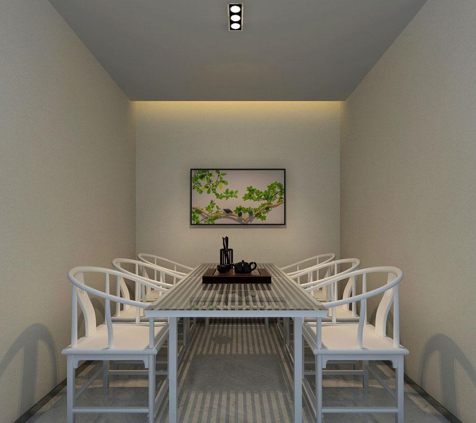 中式茶楼装修通过其专业的设计以及高雅的环境吸引消费者