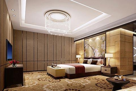 酒店中式装修效果图赏析 酒店中式设计效果图合集
