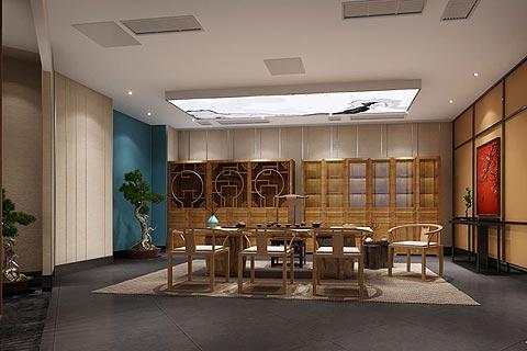茶楼中式装修效果图赏析 中式元素营造亘古飘香的茶楼韵味