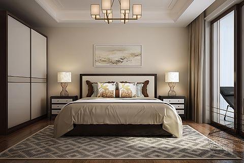 别墅中式装修效果图赏析 低调的奢华营造人性化的中式居室