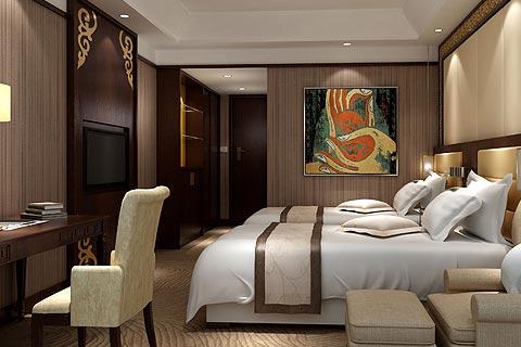 酒店中式装修效果图欣赏 中式设计让精品酒店禅韵丛生
