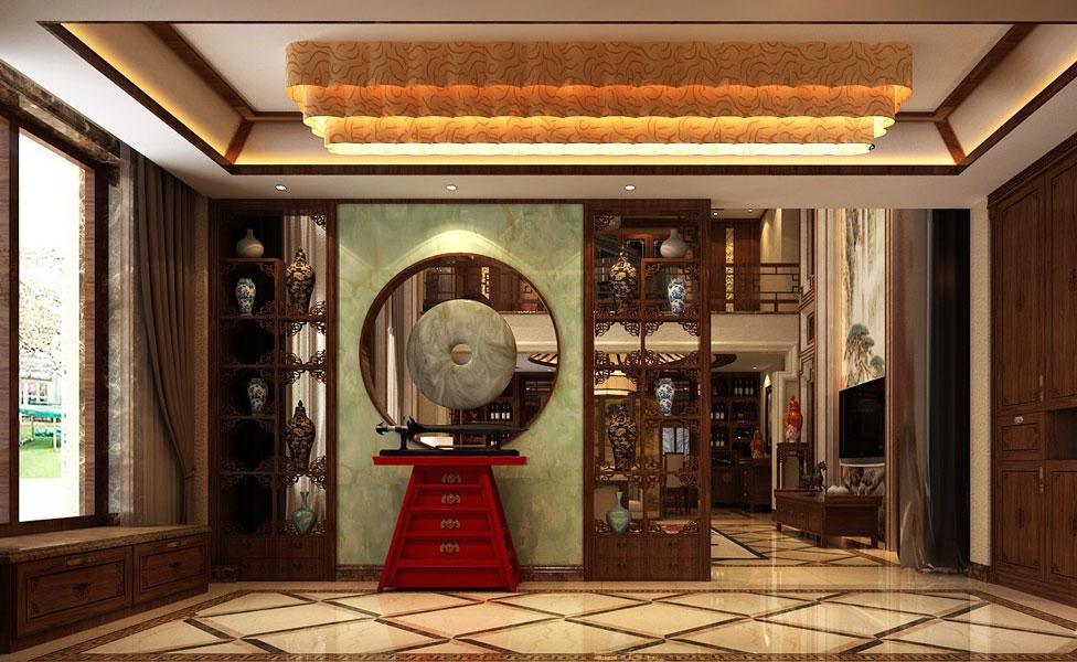 别墅新中式装修效果图