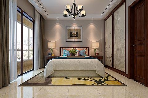 别墅中式装修图片,中式设计别墅装修效果图 古色古韵