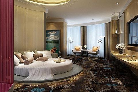酒店中式装修效果图欣赏 中式设计以温馨居家休闲为主
