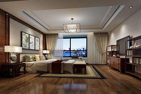 中式别墅设计效果图欣赏 中式装修别墅意境丛生