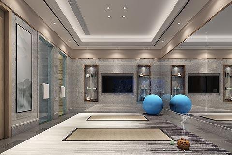别墅中式装修效果图欣赏 新中式设计造新式的东方元素空间