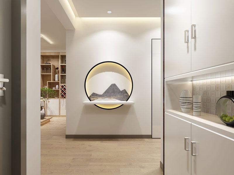 > 禅意别墅中式装修效果图欣赏 禅意设计让人找寻心中的寂静