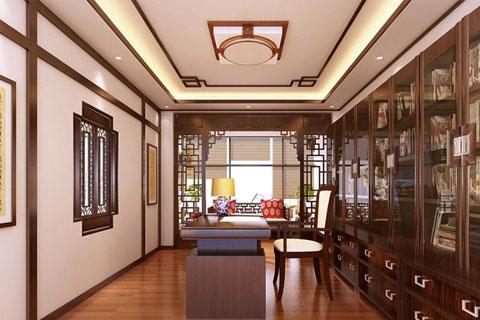 镇江现代别墅装修设计,古典高雅又具备小清新格调