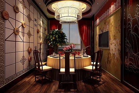 古典茶楼中式装修效果图 中式设计让传统文化继续繁衍