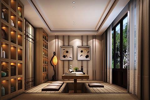 别墅中式装修效果图 禅意新中式设计打造魅力家居