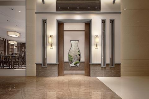 餐厅中式装修效果图欣赏 新中式设计带来古韵的餐饮空间