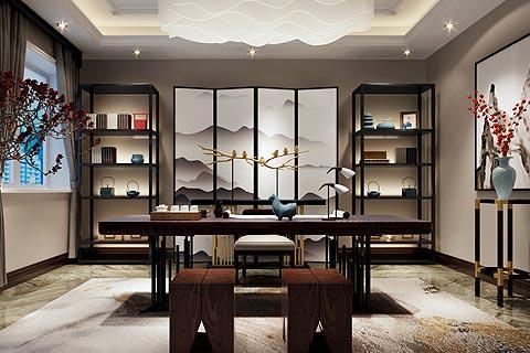 新中式别墅装修效果图欣赏 用舒适环境全新定义中式设计