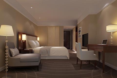 酒店中式装修效果图 中式设计酒店装修古韵中的新环境