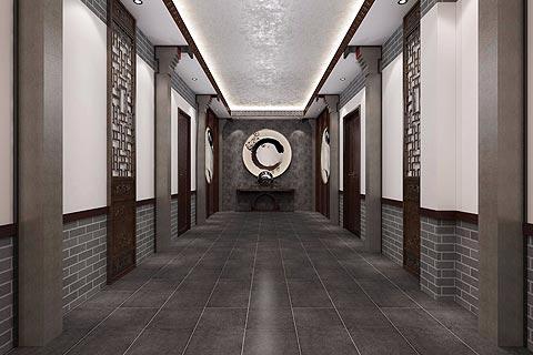 餐饮空间中式装修效果图 中式设计造就复古就餐环境