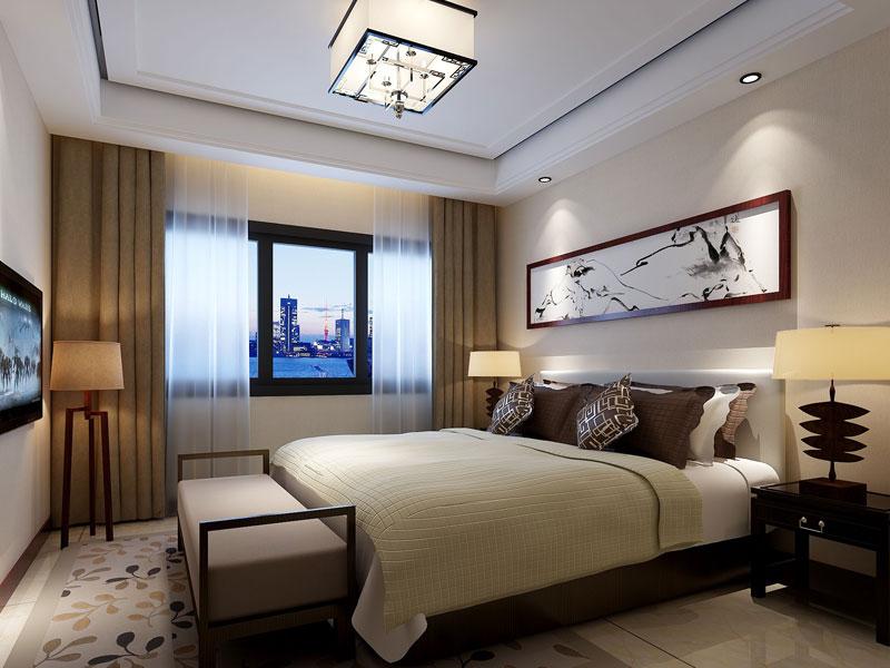 > 新中式别墅装修效果图 新中式设计让古韵装修不再沉闷