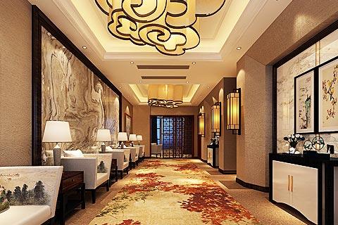 酒店中式装修效果图,中式设计营造东方风情的酒店空间