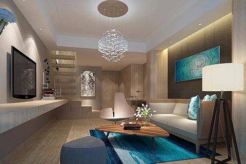 酒店中式装修效果图 新中式设计酒店装修图片赏析
