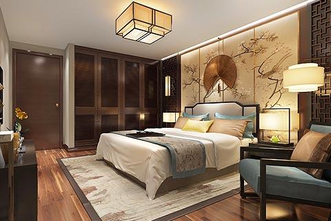 中式别墅设计效果图 新中式风格别墅装修效果图赏析