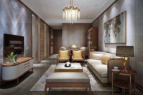 别墅中式装修图片,中式装修别墅设计效果图赏析