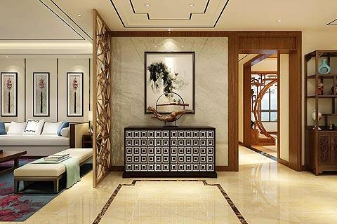禅意风格别墅装修效果图 中式设计禅意装修别墅家居图赏析