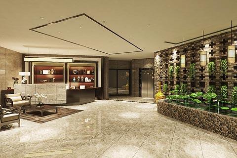 餐饮空间装修效果图 中式设计餐饮酒楼装修效果图赏析