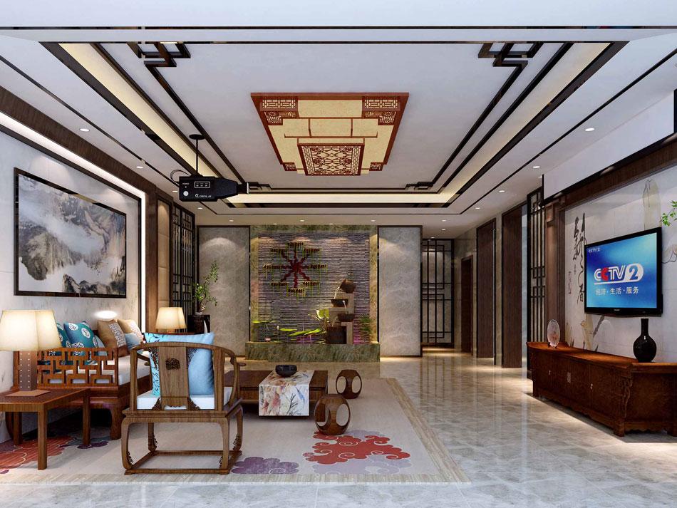 本套图片来源于高老庄 是一套四合院中式装修效果图