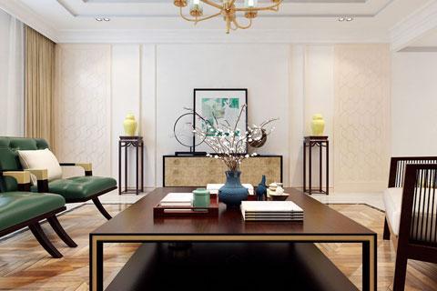 新中式风格中式家装空间设计效果图