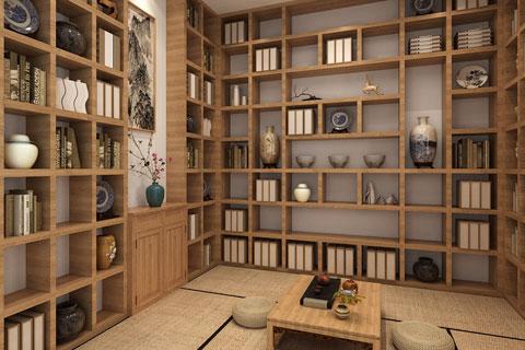 中式别墅设计之禅意简约风格装修效果图欣赏
